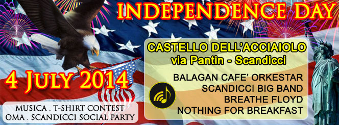 INDEPENDENCE DAY SCANDICCI 2014