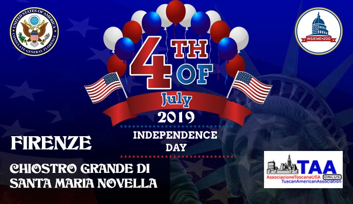 4th July 2019 Independence Day Florence